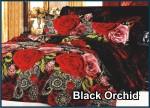 Black Orchid - Fata Sprei & Bed Cover
