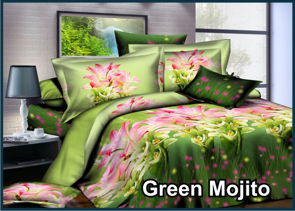 Green Mojito - Fata Sprei & Bed Cover