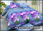 lavender vViolet - Fata Sprei Bed Cover