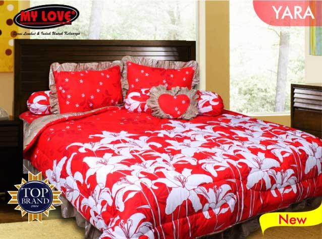 Yara - My Love Sprei & Bed Cover